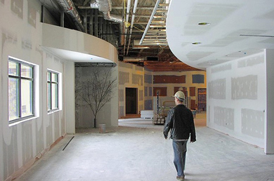We work with construction companies for the painting of Las Vegas commercial buildings.
