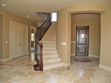 We paint living rooms, dens, kitchens and staircases in Las Vegas, NV.