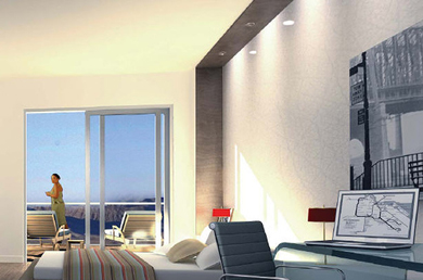 Las Vegas high rise painting. We are a licensed painting contractor for Las Vegas, NV.
